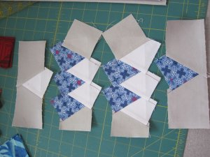 Dancing-Star-rough-piecing