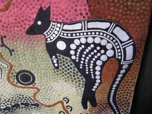 Dreamtime kangaroo