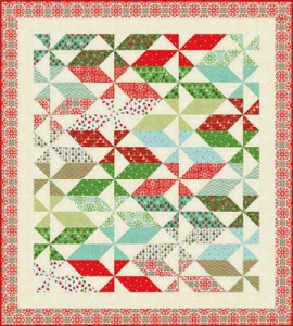 Joy, free quilt pattern by Kate Spain for Moda Fabrics