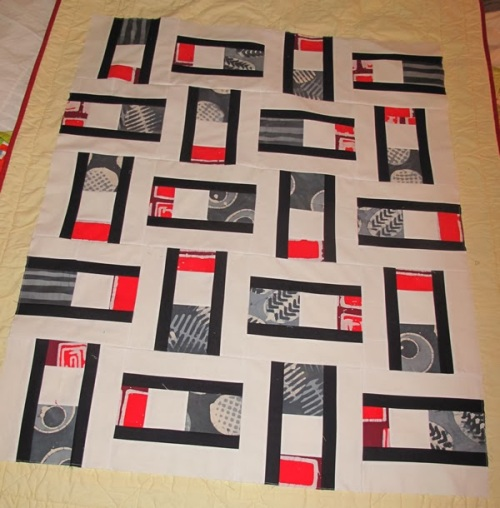 Squared Scraps Modern One-Block Quilts