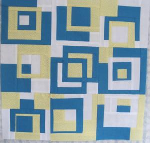 Square series cyan