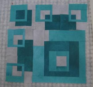 Working in Series J. Mack aqua squares 2