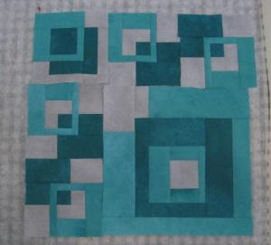 Working in Series J. Mack aqua squares 3