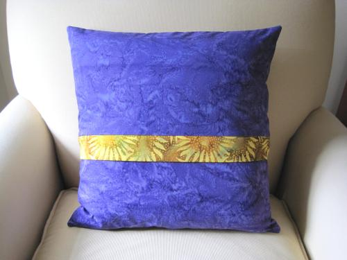 star pillow back