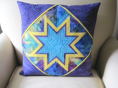 star pillow front