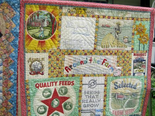 feed sack quilts 1