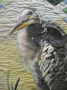 Great Blue representational detail