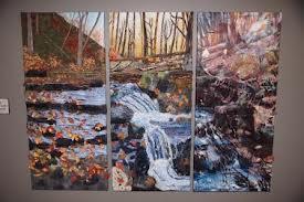 Niagara textile art project