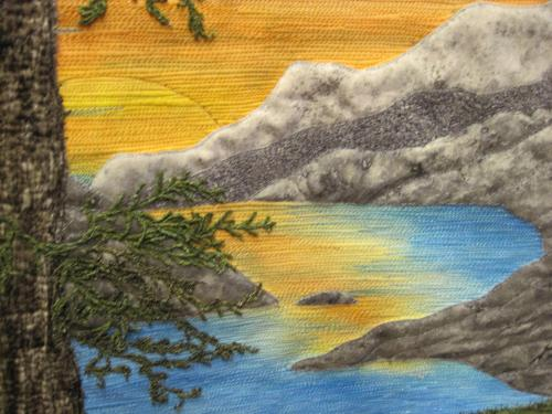 Okanagan Landscape representational detail