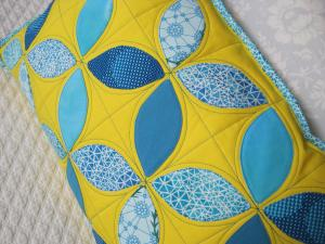 orange peel pillow detail