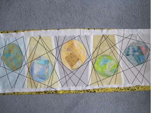 quilting idea Easter egg roll