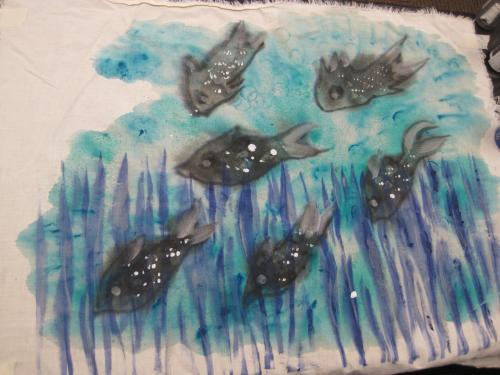 C's fish print