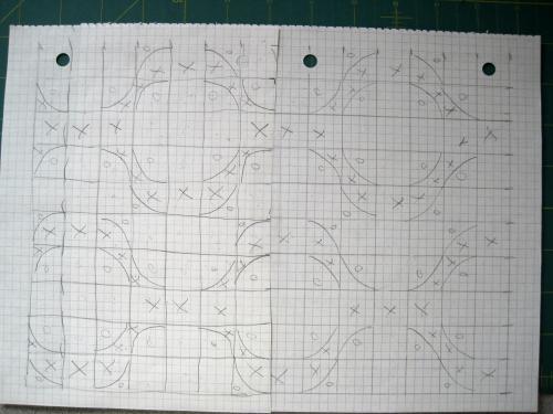 DP layout sketch