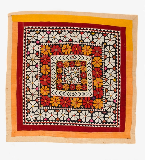Indian 20th c. applique Smithsonian FS-6910_08