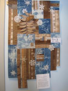 November in Indigo and Walnut by Judith Kessler Smith