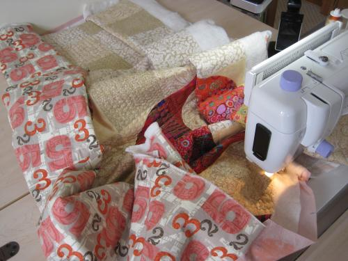 Cuves Ahead quilting