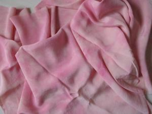 Dyed silk crepe