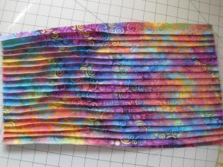 Sewn folds