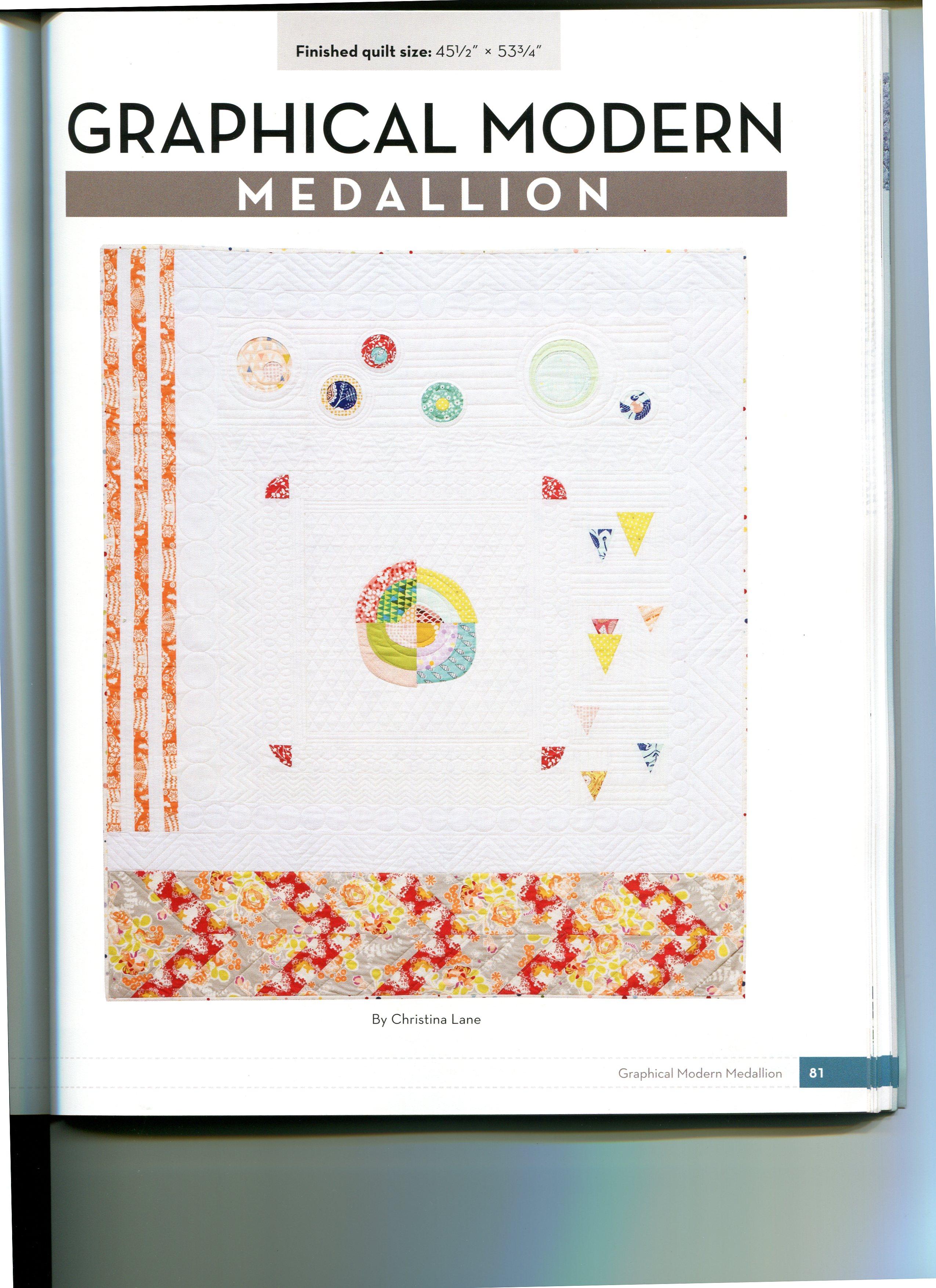 modern medallion009 the snarky quilter. Black Bedroom Furniture Sets. Home Design Ideas