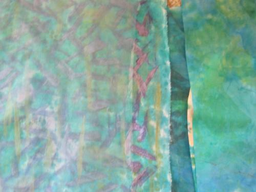 painted fabric