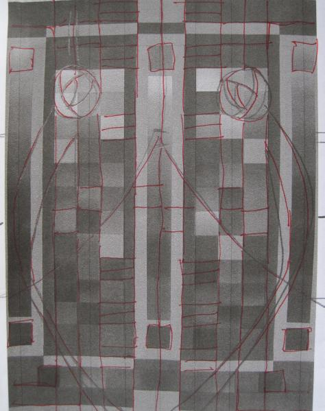 Rennie quilting sketch