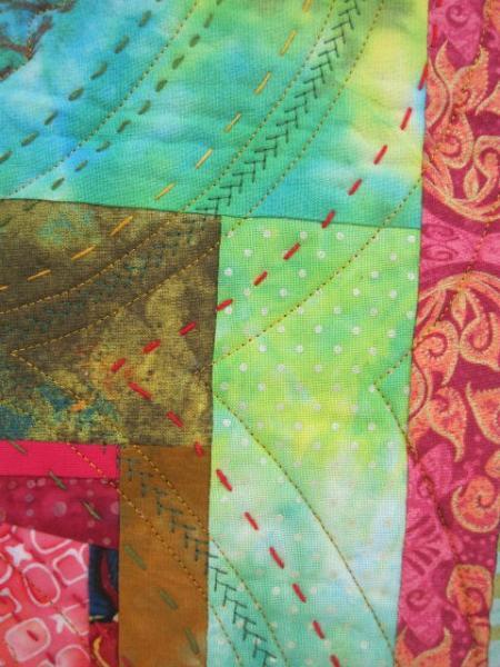 Brain fabric detail