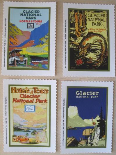 Glacier poster prints