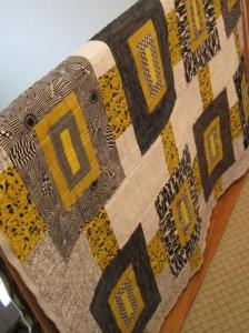 Bumblebee quilted