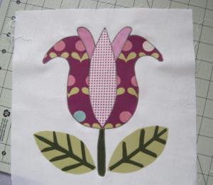 friendship quilt flower