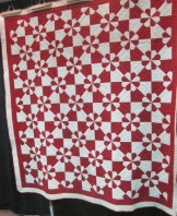 Hearts and Gizzards, double quilting