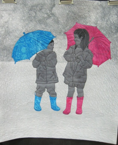 Rainy Day, Carolyn Coleman, 2nd place Pictorial