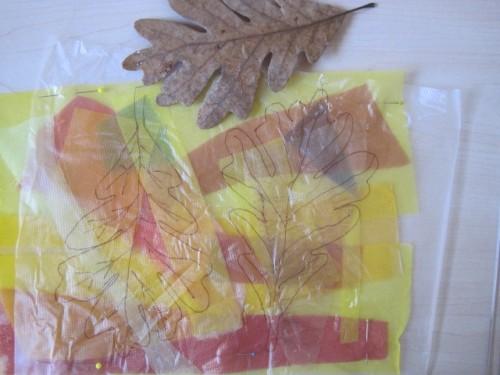 leaf construction