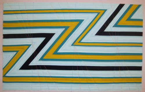 Z is for Zoom quilting