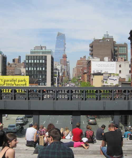 Highline steps