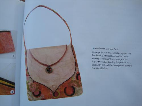 Cleavage purse Jane Davies