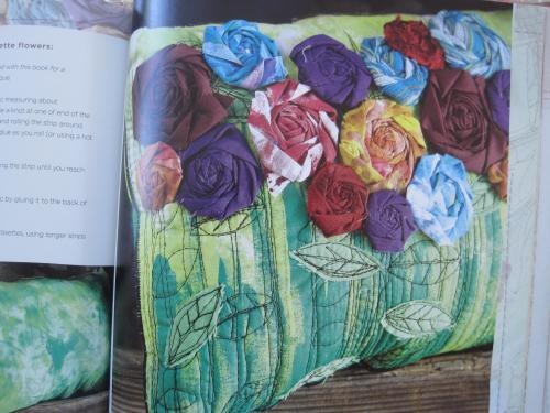 Rosette Pillow Alisa Burke
