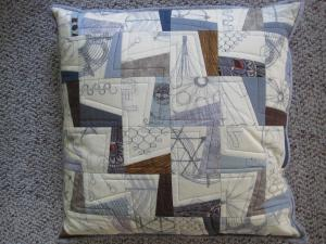 modern pillow Japanese fabric