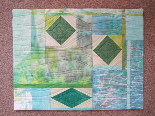 """Emeralds Islets 20"""" x 28"""" approx."""