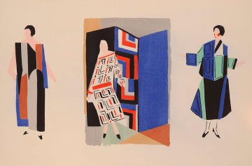 Sonia Delaunay drawing